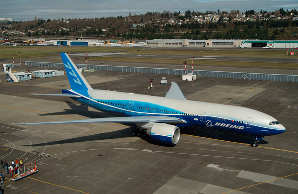 COMMERCIAL AVIATION: BOEING 777 / BOEING 777-200LR AIRCRAFT