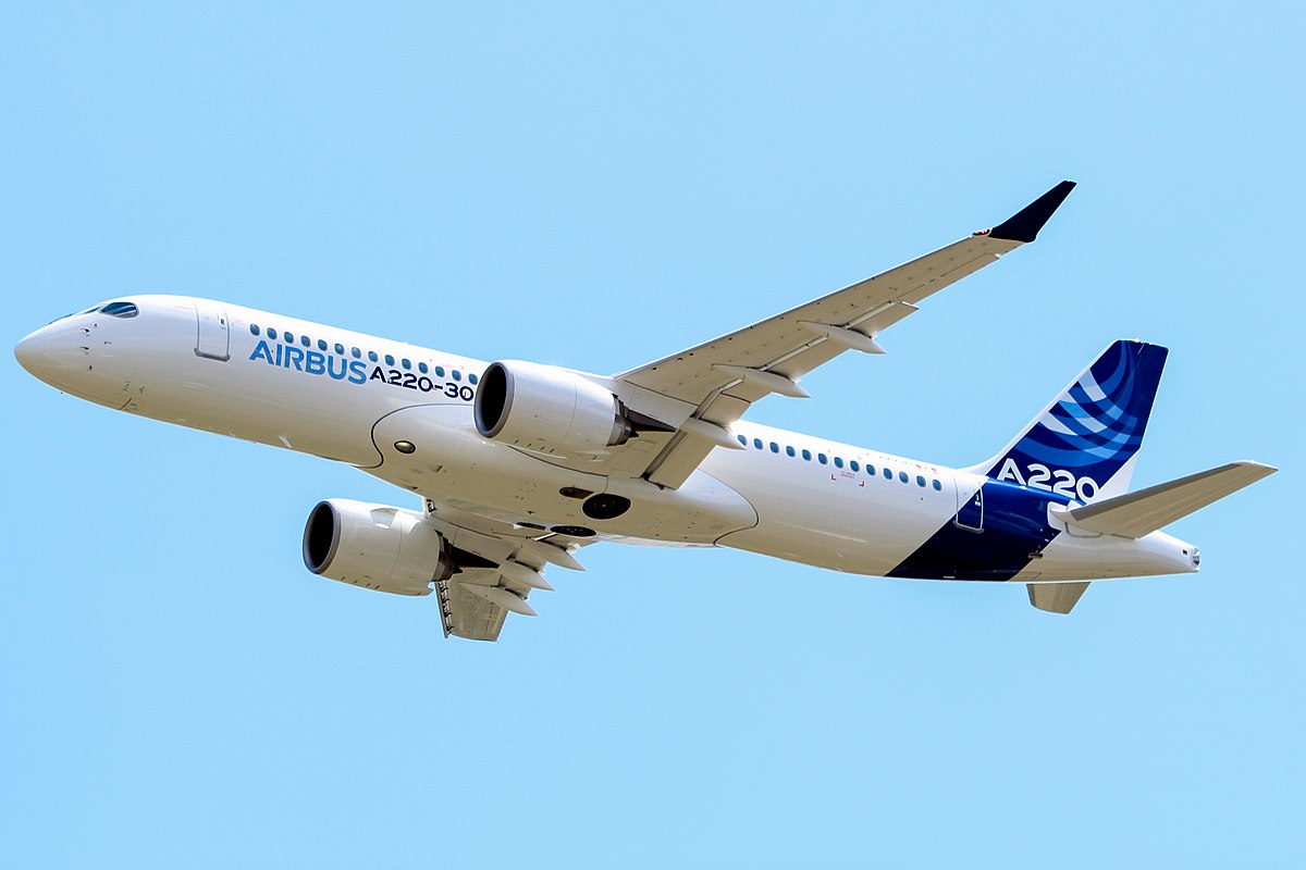 Airbus A220-300 For Sale. New Airbus A220-300 = 6000 km +141 (160) passenger + Fuel Economy.