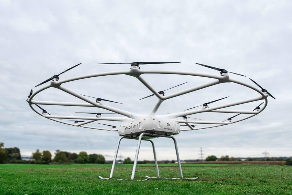The heavy #cargo #drone VoloDrone eVTOL. @JobToRob: #news: Jobs for #Drones! #Work for Drones! Hire #Drone!